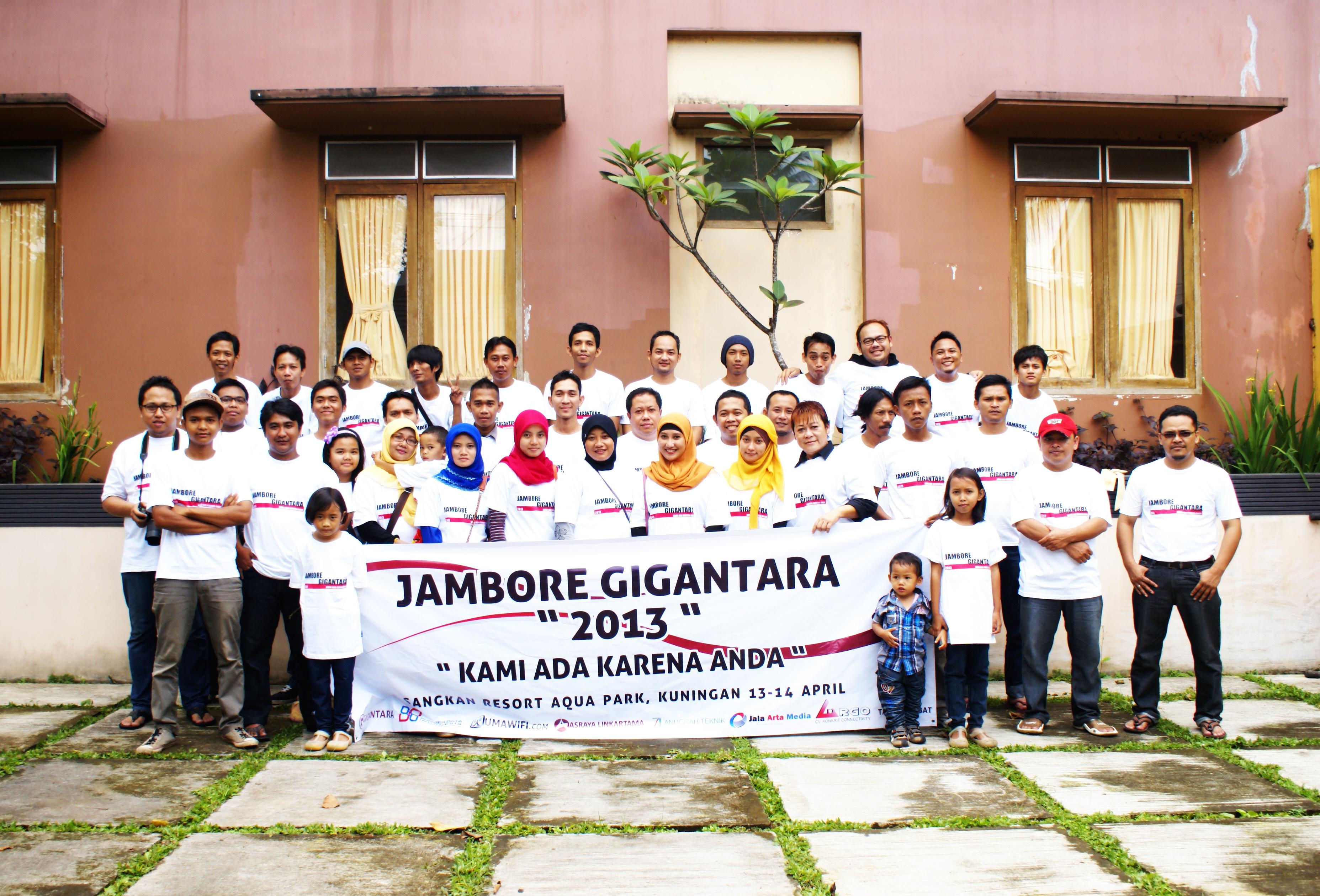 jambore pt giga network nusantara cirebon 2013