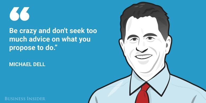 6. Founder dan CEO Dell Technologies, Michael Dell.