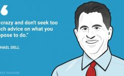6. Founder dan CEO Dell Technologies, Michael Dell.