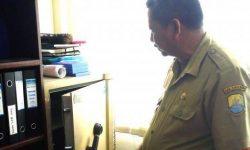 Terekam CCTV, Brankas Kantor Disdik Cirebon Dijebol Maling
