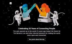Kisah Dibalik Lahirnya 25 Tahun Internaut Day