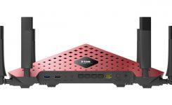 WiFi router milik D-Link AC3200
